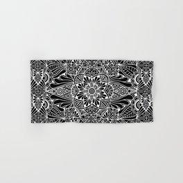 Inverted Pastel Mandala Hand & Bath Towel
