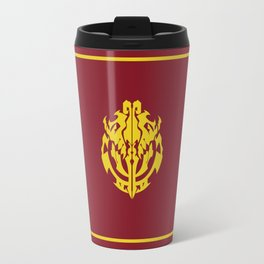 Overlord Anime Emblem: Ainz Ooal Gown (Red & Gold) Travel Mug