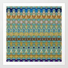 Mix&Match Byzantine Mosaic 02 Art Print