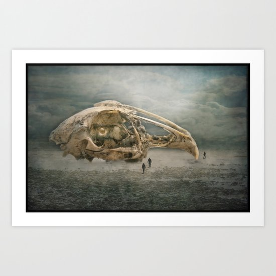 The Finding of the Skull Art Print