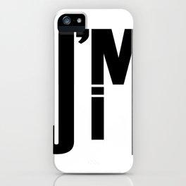 I'M JIM iPhone Case