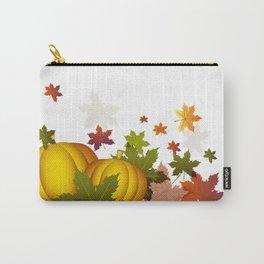 Thanksgiving Pumpkins Carry-All Pouch