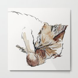 Buster Kitty Metal Print