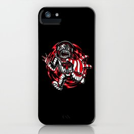 Monkey Space Lover Gift Idea Design Motif iPhone Case