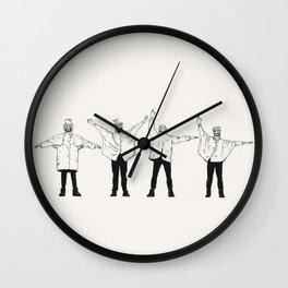 HELL. Wall Clock