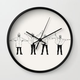 HELL. Wall Clock