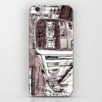subway iPhone & iPod Skins featuring Subway by Jonas Ericson