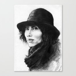 Yasu Canvas Print