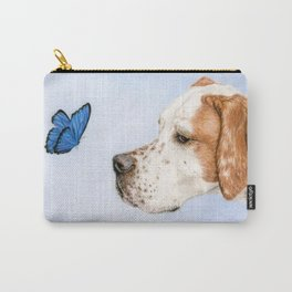 The Dog And The Butterfly Carry-All Pouch