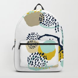 Jamm - abstract art painting brushstrokes modern minimal paint trendy colors hipster gender neutral  Backpack