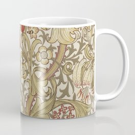 William Morris Golden Lily John Henry Dearle Coffee Mug