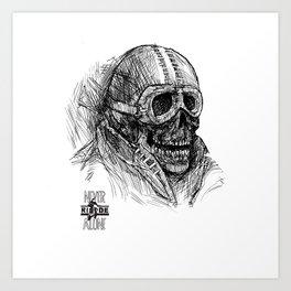 Unhead Art Print