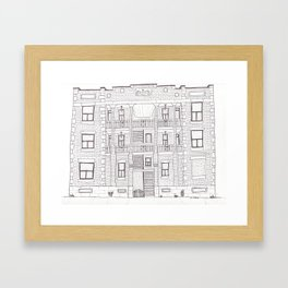 St Dominique Framed Art Print
