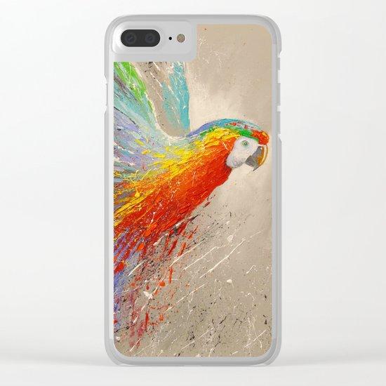 Parrots Clear iPhone Case
