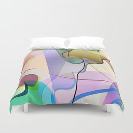 abstract-1 Duvet Cover