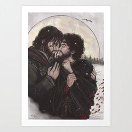Tristhad Art Print
