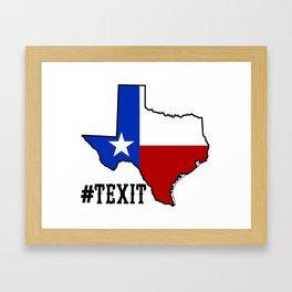 tExit Framed Art Print