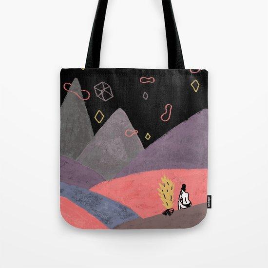 Mountain Girl Tote Bag