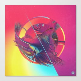 WATERMELON YODA (09.15.15) Canvas Print