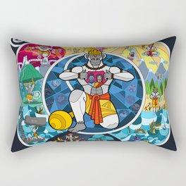 Life of Hanuman Rectangular Pillow