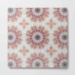 Epistylis Kaleidoscope | Micro Series 05 Metal Print