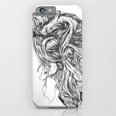 Portrait of a Forgotten Girl. iPhone 6s Slim Case