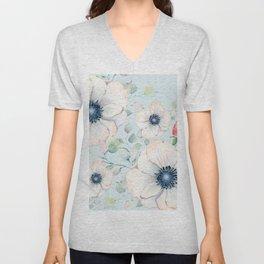 Summer Flowers #society6 #buyart Unisex V-Neck