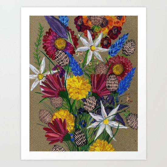 Boquet  Art Print