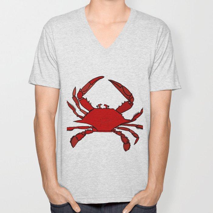Getting Crabby Unisex V-Neck