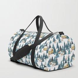 Winter village Duffle Bag