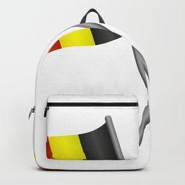 Belgium flag Backpack
