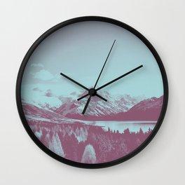 An Acorn and a Chestnut Wall Clock