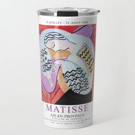 Matisse Exhibition - Aix-en-Provence - The Dream Artwork Travel Mug
