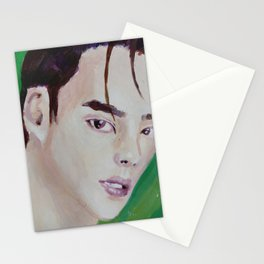 NCT Painting Jungwoo Stationery Cards