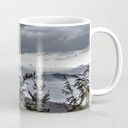 Sitting on the peaks above the Appalachian Mountains Coffee Mug