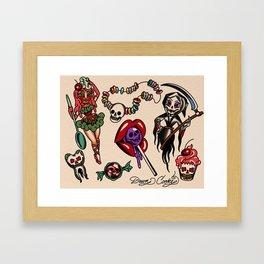die-abetes Framed Art Print