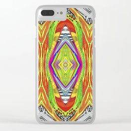 life pattern number 2 Clear iPhone Case