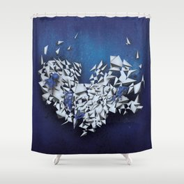 Sapphires Shower Curtain