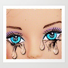 Tears! Art Print