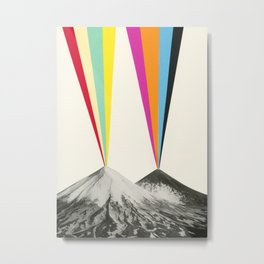 Volcanos Metal Print