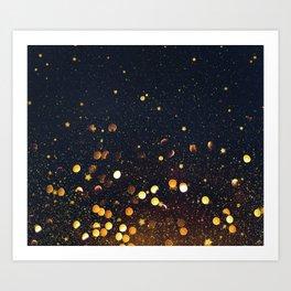 Light Touches Art Print