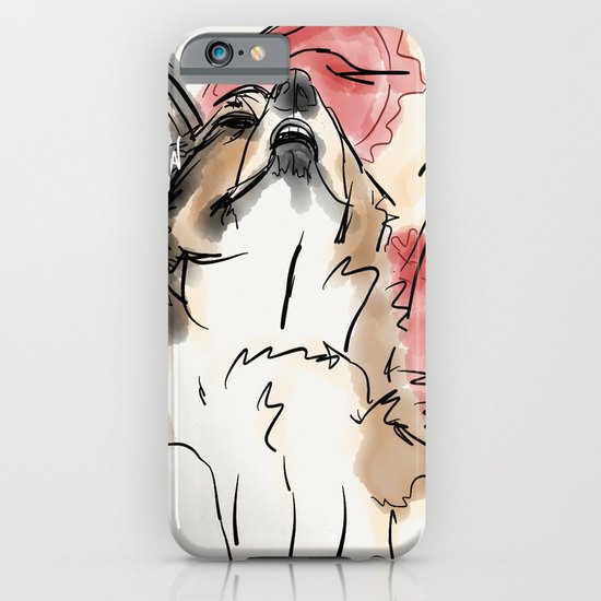 Charles Red iPhone & iPod Case