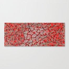 Amalgamation of red Canvas Print