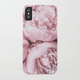 Lush Peony Flower iPhone Case