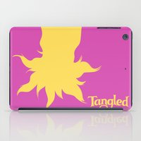tangled iPad Cases featuring Tangled by Citron Vert
