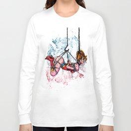 Bondage Wonderowman Long Sleeve T-shirt
