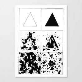 Infection/Erosion Canvas Print