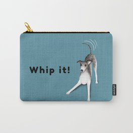Whip it! (Blue-Gray) Carry-All Pouch