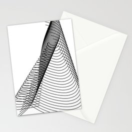"""Script Collection"" - Minimal Letter L Print Stationery Cards"
