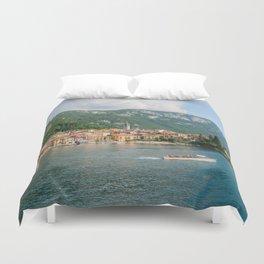Bellagio in Lake Como Italy Duvet Cover